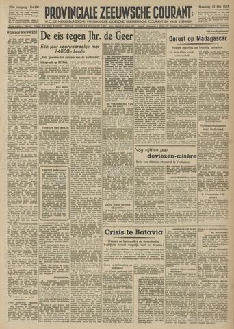 Provinciale Zeeuwse Courant 1947-05-12