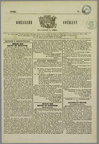 Goessche Courant 1850-04-22