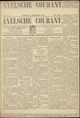 Axelsche Courant 1944-11-03