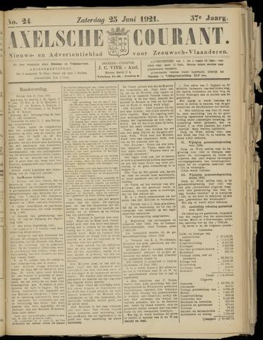 Axelsche Courant 1921-06-25