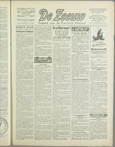 De Zeeuw. Christelijk-historisch nieuwsblad voor Zeeland 1937-11-27