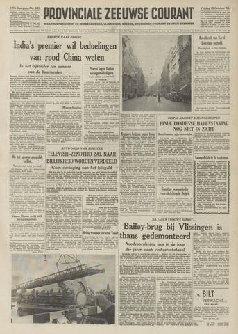 Provinciale Zeeuwse Courant 1954-10-15