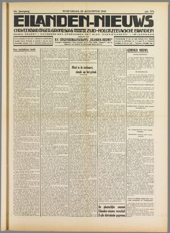 Eilanden-nieuws. Christelijk streekblad op gereformeerde grondslag 1940-08-28