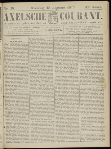 Axelsche Courant 1915-08-18