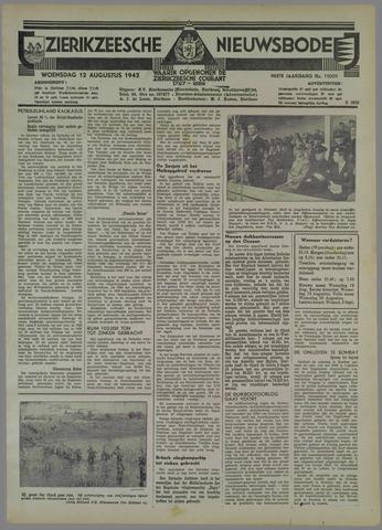 Zierikzeesche Nieuwsbode 1942-08-12