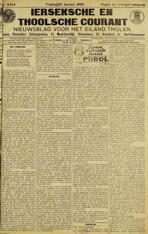 Ierseksche en Thoolsche Courant 1932-01-15