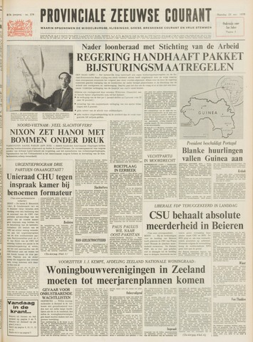 Provinciale Zeeuwse Courant 1970-11-23