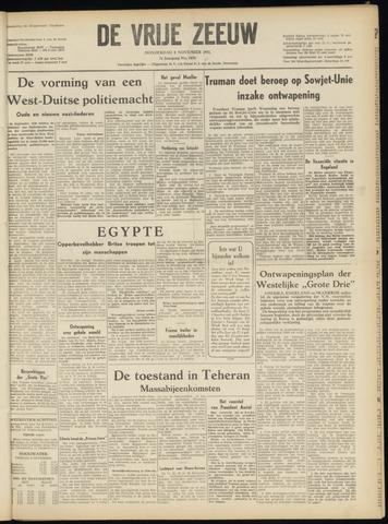 de Vrije Zeeuw 1951-11-08