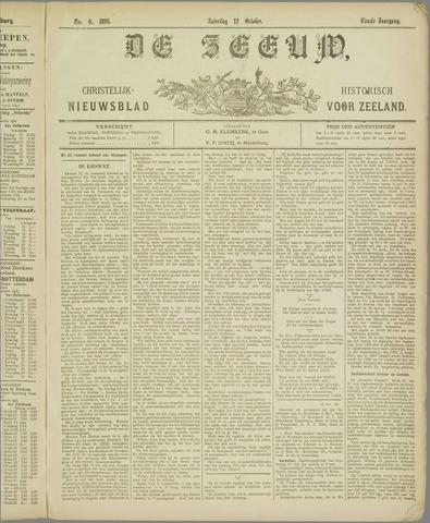 De Zeeuw. Christelijk-historisch nieuwsblad voor Zeeland 1895-10-12