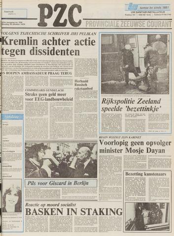 Provinciale Zeeuwse Courant 1979-10-30