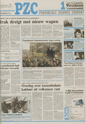 Provinciale Zeeuwse Courant 1991-01-28