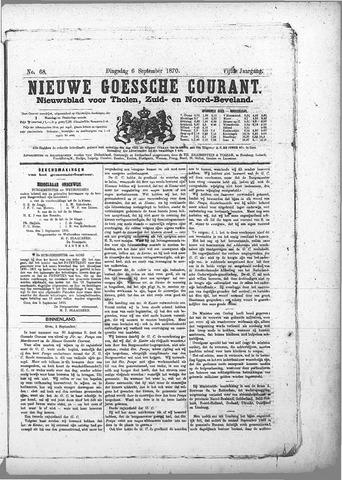 Nieuwe Goessche Courant 1870-09-06