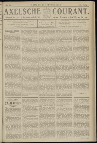 Axelsche Courant 1924-10-31
