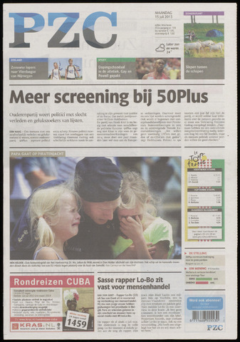 Provinciale Zeeuwse Courant 2013-07-15