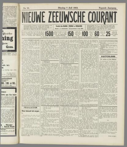 Nieuwe Zeeuwsche Courant 1913-07-08