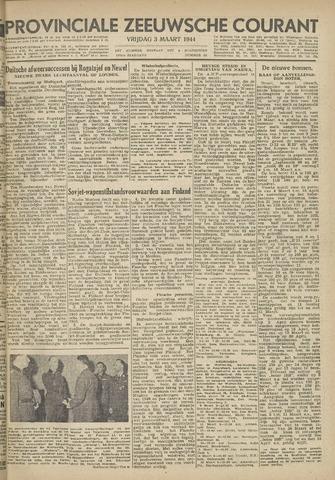 Provinciale Zeeuwse Courant 1944-03-03
