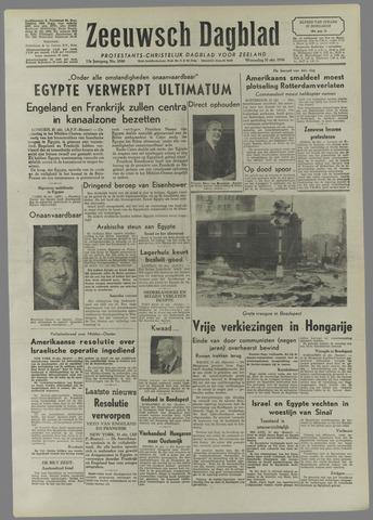 Zeeuwsch Dagblad 1956-10-31