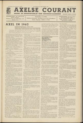 Axelsche Courant 1962-12-29