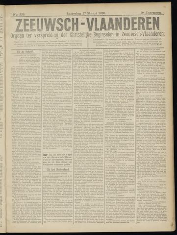 Luctor et Emergo. Antirevolutionair nieuws- en advertentieblad voor Zeeland / Zeeuwsch-Vlaanderen. Orgaan ter verspreiding van de christelijke beginselen in Zeeuwsch-Vlaanderen 1920-03-27