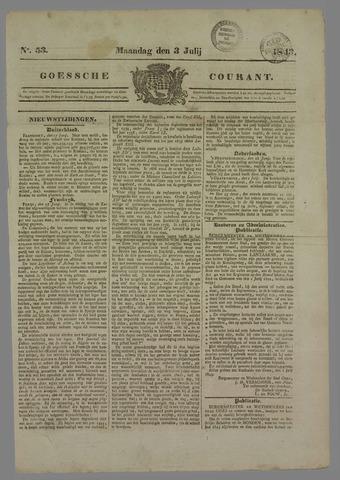 Goessche Courant 1843-07-03