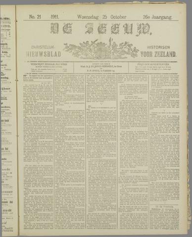De Zeeuw. Christelijk-historisch nieuwsblad voor Zeeland 1911-10-25