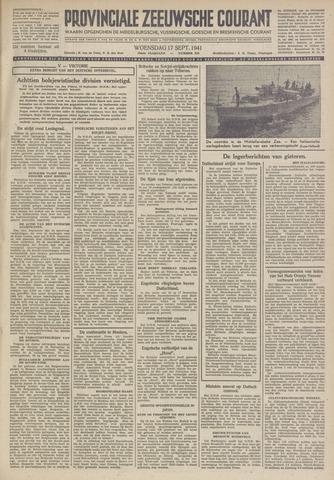 Provinciale Zeeuwse Courant 1941-09-17