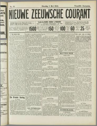 Nieuwe Zeeuwsche Courant 1916-05-02