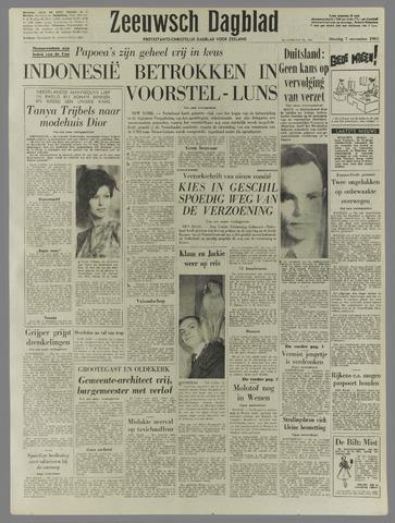 Zeeuwsch Dagblad 1961-11-07