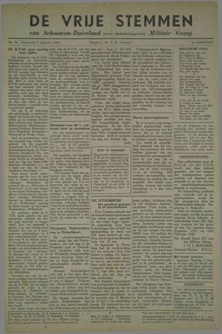 Vrije Stemmen van Schouwen-Duiveland, tevens mededeelingenblad Militair Gezag 1945-08-09