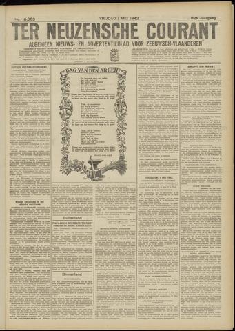 Ter Neuzensche Courant. Algemeen Nieuws- en Advertentieblad voor Zeeuwsch-Vlaanderen / Neuzensche Courant ... (idem) / (Algemeen) nieuws en advertentieblad voor Zeeuwsch-Vlaanderen 1942-05-01