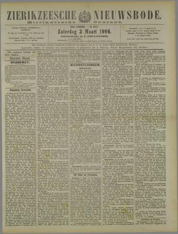 Zierikzeesche Nieuwsbode 1906-03-03