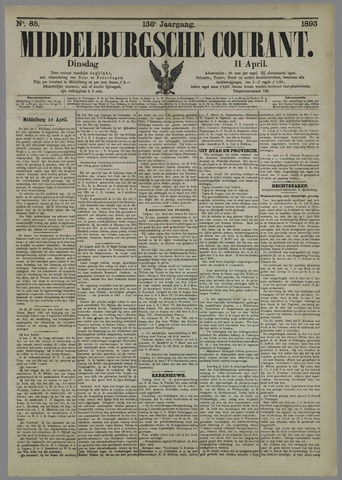 Middelburgsche Courant 1893-04-11