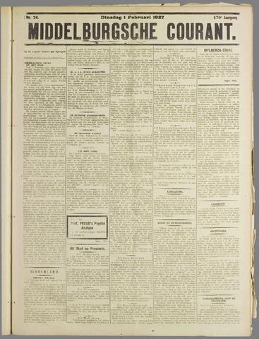 Middelburgsche Courant 1927-02-01