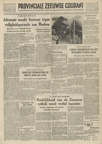 Provinciale Zeeuwse Courant 1953-10-17