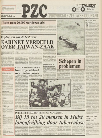Provinciale Zeeuwse Courant 1981-02-11