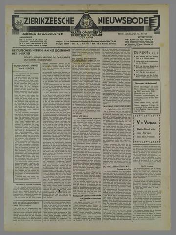 Zierikzeesche Nieuwsbode 1941-08-24