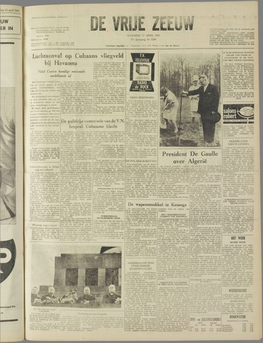 de Vrije Zeeuw 1961-04-17