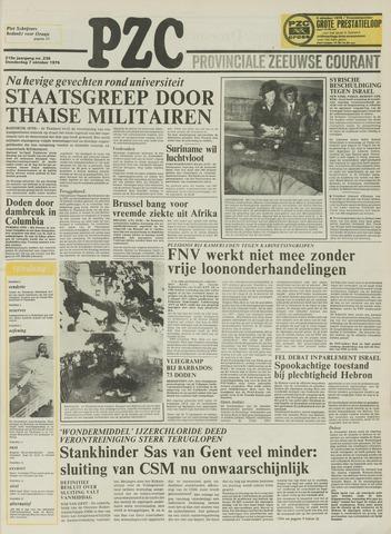 Provinciale Zeeuwse Courant 1976-10-07