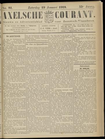 Axelsche Courant 1918-01-19
