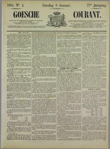 Goessche Courant 1884-01-08