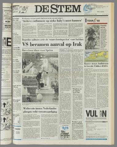 de Stem 1992-07-23