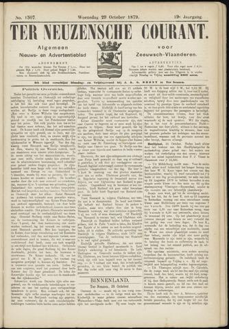 Ter Neuzensche Courant. Algemeen Nieuws- en Advertentieblad voor Zeeuwsch-Vlaanderen / Neuzensche Courant ... (idem) / (Algemeen) nieuws en advertentieblad voor Zeeuwsch-Vlaanderen 1879-10-29
