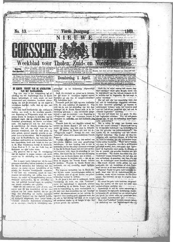 Nieuwe Goessche Courant 1869-04-01