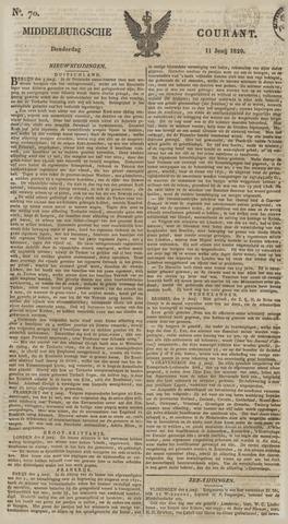 Middelburgsche Courant 1829-06-11