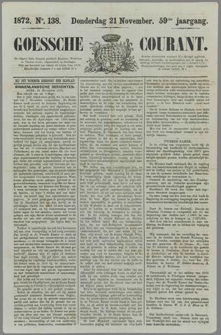 Goessche Courant 1872-11-21
