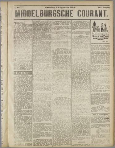 Middelburgsche Courant 1922-08-07