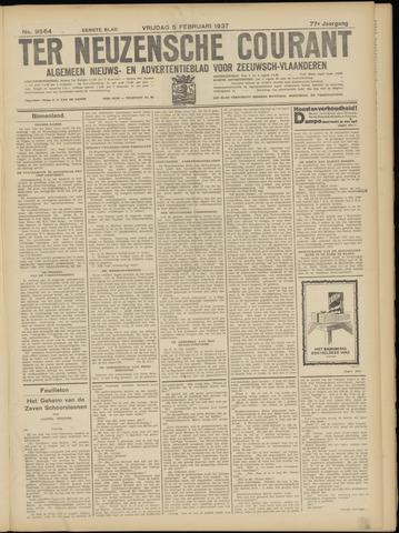 Ter Neuzensche Courant. Algemeen Nieuws- en Advertentieblad voor Zeeuwsch-Vlaanderen / Neuzensche Courant ... (idem) / (Algemeen) nieuws en advertentieblad voor Zeeuwsch-Vlaanderen 1937-02-05