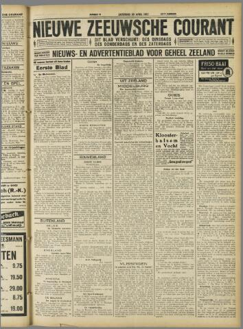 Nieuwe Zeeuwsche Courant 1927-04-30