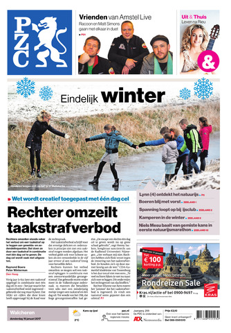 Provinciale Zeeuwse Courant 2017-01-19