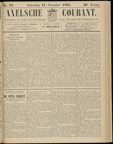 Axelsche Courant 1904-11-12